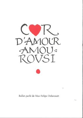 COR D'AMOUR AMOUROUSI